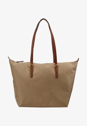 KEATON - Handbag - clay