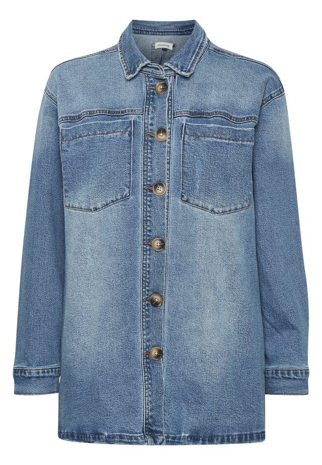 Denim jacket - medium blue retro wash