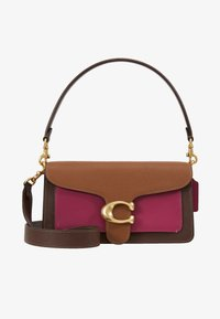 Coach - COLORBLOCK TABBY SHOULDER BAG - Kabelka - multi-coloured/purple