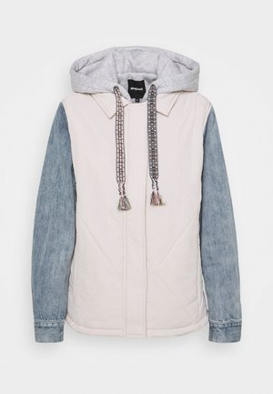 PADDED GLEN - Light jacket - white