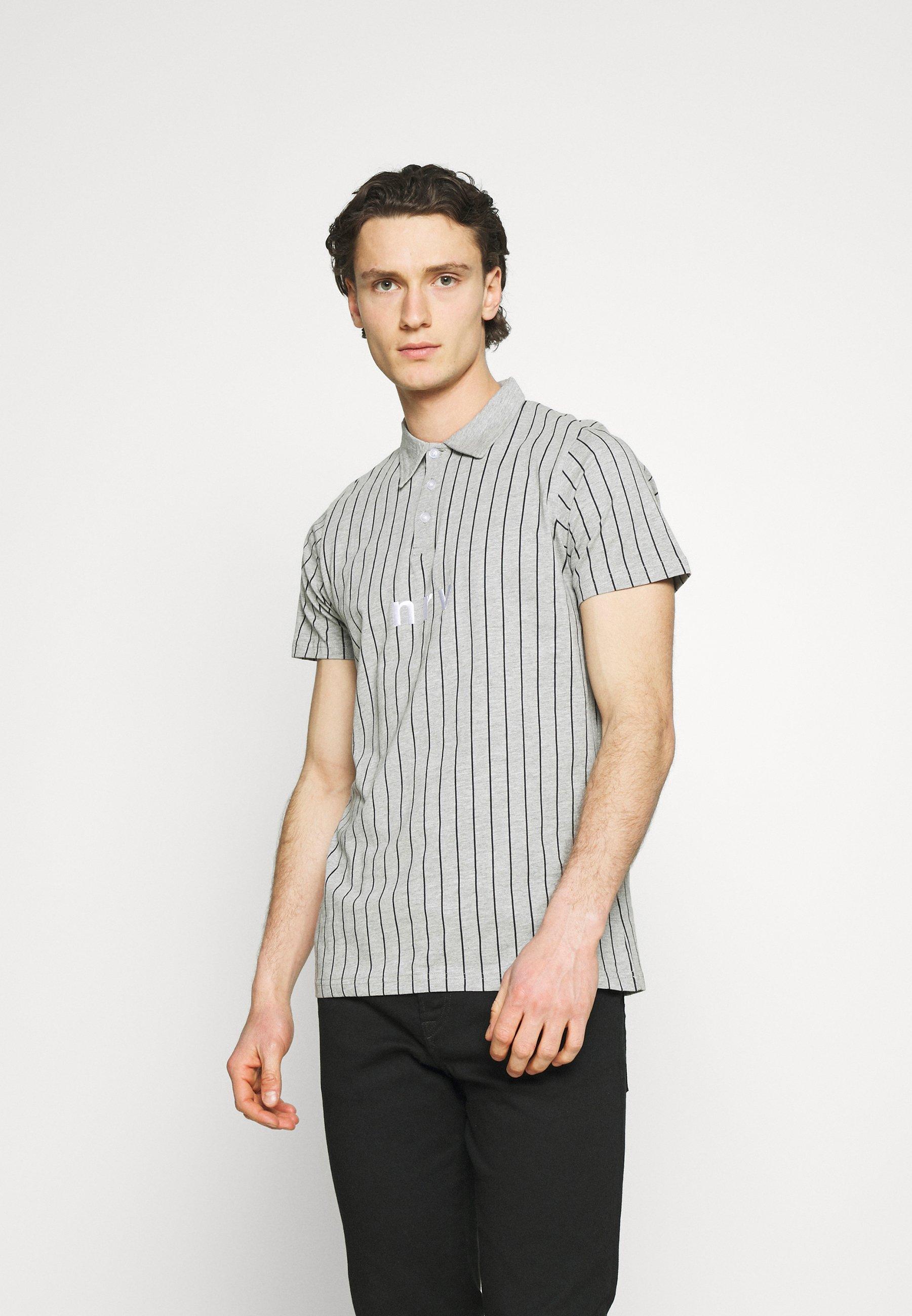 Men NESAMIR - Polo shirt - grey
