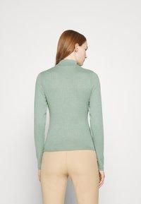 Cotton On - MILA MOCK NECK LONG SLEEVE - Long sleeved top - mountain sage marle - 2