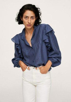 DAKOTA - Button-down blouse - azul
