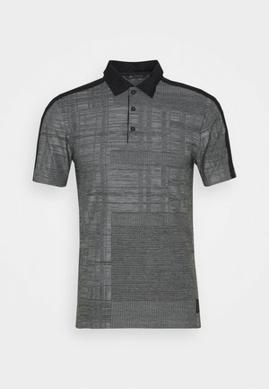 ADICROSS SHORT SLEEVE - Koszulka polo - black