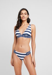 Esprit - NORTH BEACH CLASSIC BRIEF - Bikini bottoms - dark blue - 1