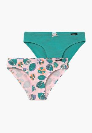 GIRLS RIO 2 PACK - Kalhotky - light pink/green