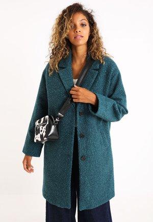 Wollmantel/klassischer Mantel - blau