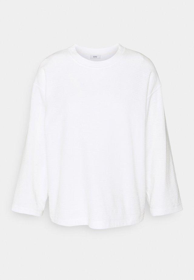WOMENS TOP - Stickad tröja - ivory