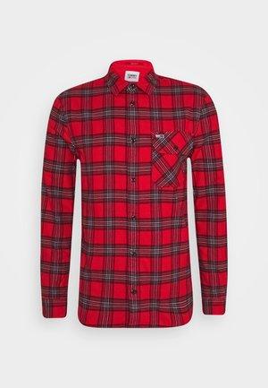 PLAID - Shirt - deep crimson/multi