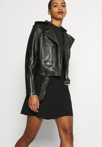 Calvin Klein Jeans - JACKET - Bunda zumělé kůže - black - 5