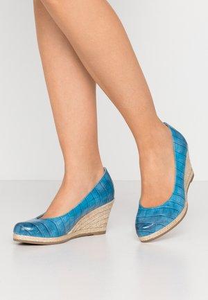 Sleehakken - light blue
