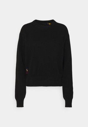 LONG SLEEVE - Sweter - polo black