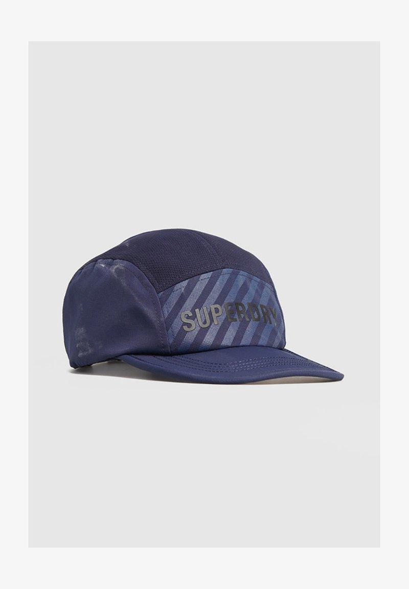Superdry - Cap - zinc blue