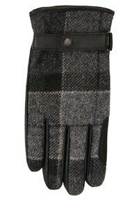 Barbour - NEWBROUGH TARTAN GLOVE - Gloves - black - 1