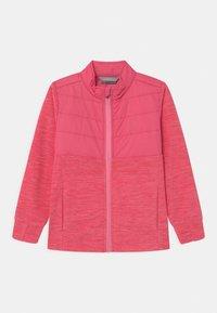 Color Kids - SOLID EFFECT - Fleece jacket - honeysuckle - 0