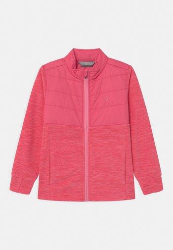 SOLID EFFECT - Fleece jacket - honeysuckle