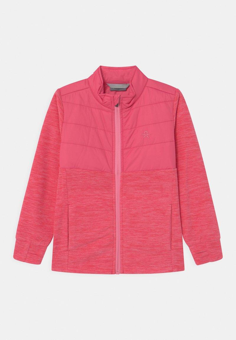Color Kids - SOLID EFFECT - Fleece jacket - honeysuckle