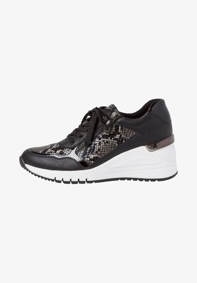 Sneakers - black comb