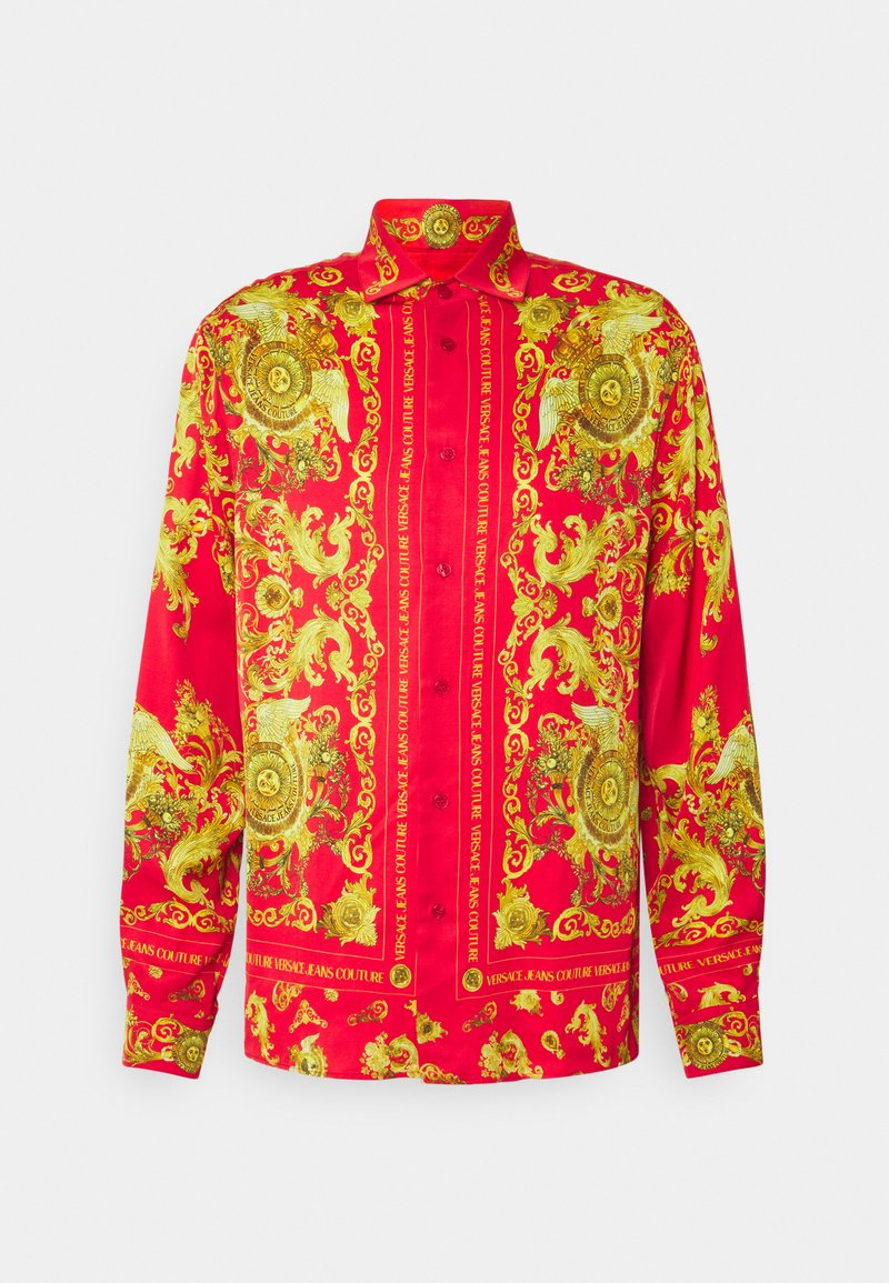 Versace Jeans Couture - PANEL GOLD BAROQUE  - Shirt - red