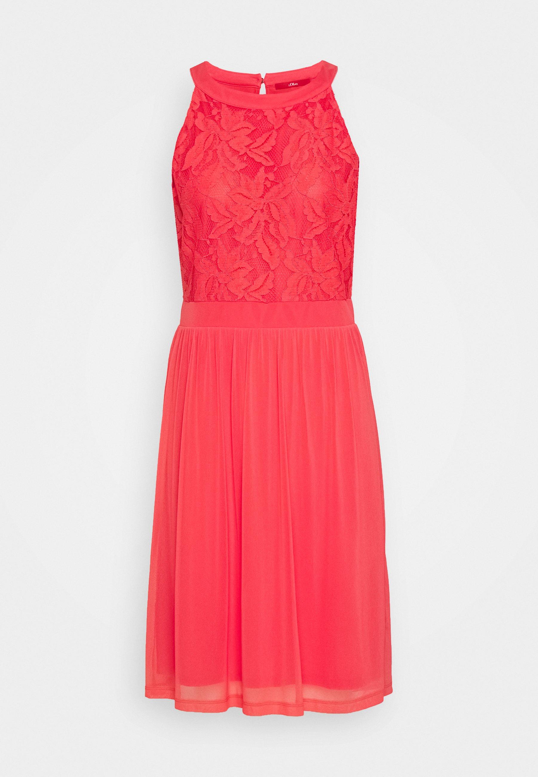 Cocktailkleid/festliches Kleid - coral red