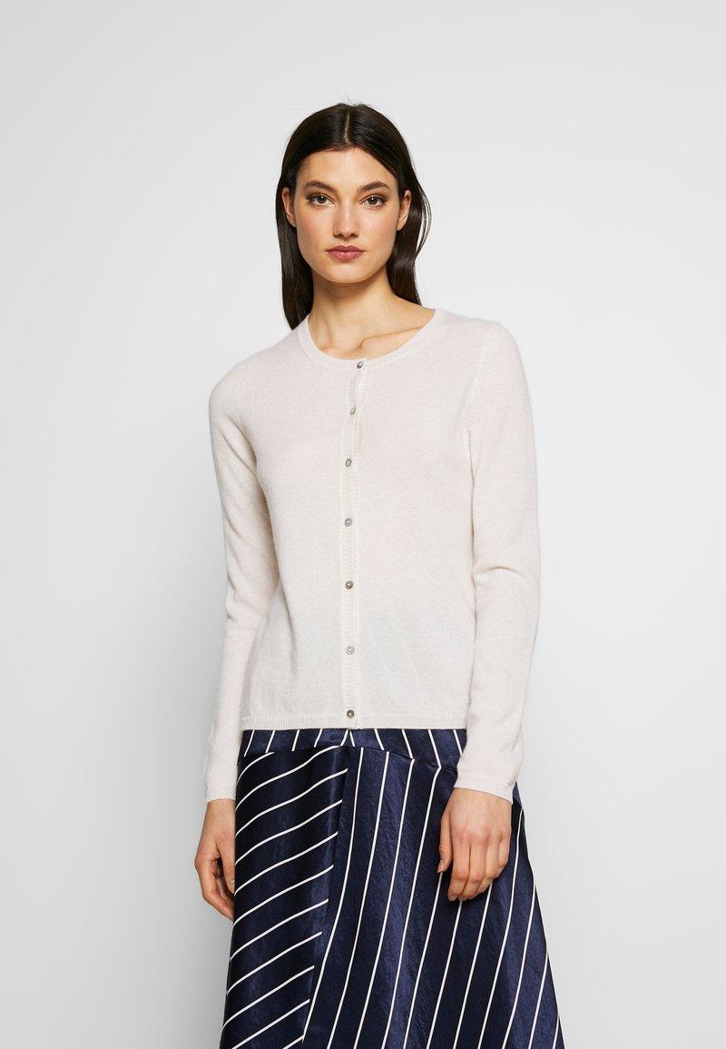 FTC Cashmere - CARDIGAN - Cardigan - pristine white