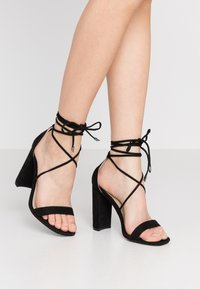 Glamorous Wide Fit - High heeled sandals - black - 0