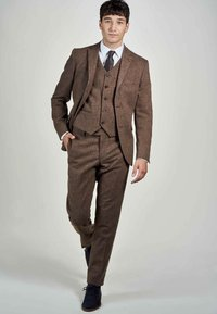MDB IMPECCABLE - Suit trousers - sand - 1