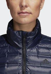 adidas Performance - VARILITE OUTDOOR DOWN - Winter jacket - dark blue - 4