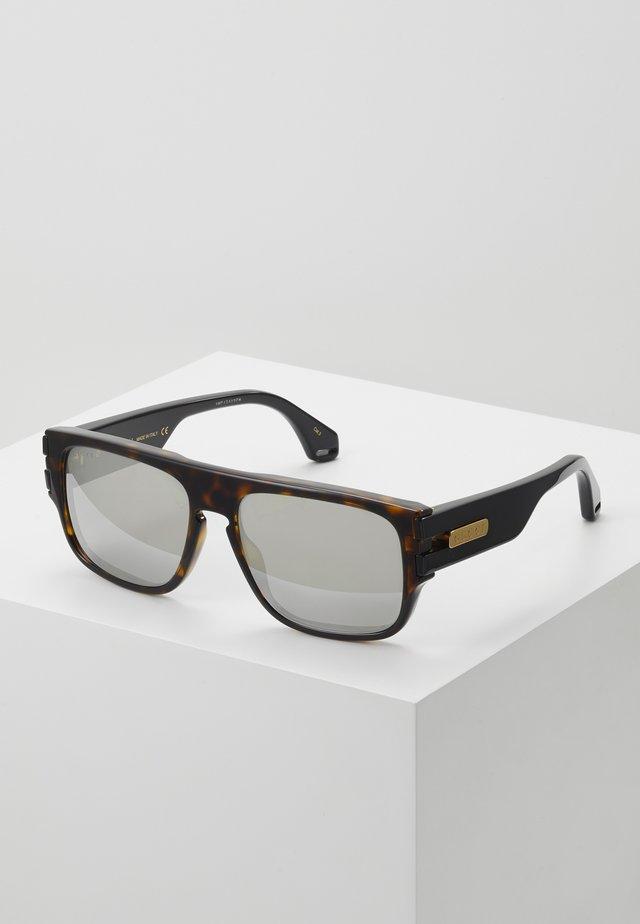 Lunettes de soleil - havana/black/silver-coloured
