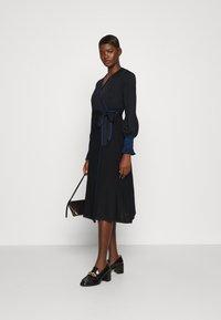 Diane von Furstenberg - YOLANDA DRESS - Jumper dress - new navy - 1