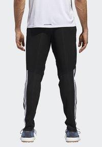 adidas Performance - RUN ASTRO 3-STRIPES TIGHTS - Tracksuit bottoms - black - 1