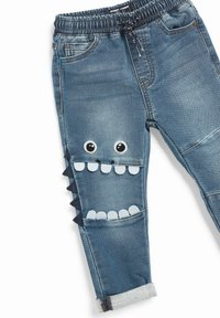Next - Straight leg jeans - blue denim - 2