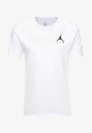 JUMPMAN AIR TEE - Jednoduché triko - white/black