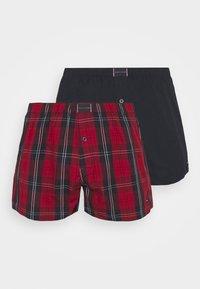 Tommy Hilfiger - 2 PACK - Boxer shorts - red/dark blue - 4