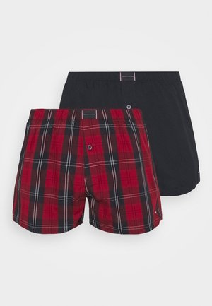 2 PACK - Boxer - red/dark blue