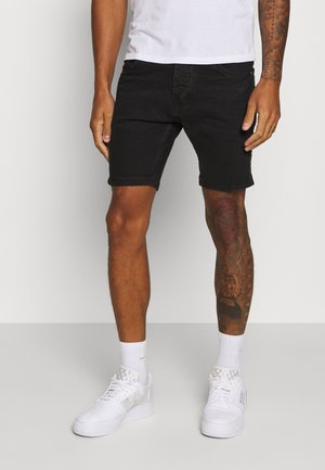 RUBINSTRIPE - Short en jean - charcoal wash
