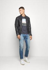 Freaky Nation - BEST BUDDY - Leather jacket - black - 1