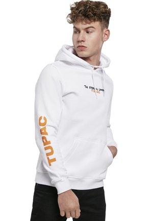 TUPAC ETERNAL  - Hoodie - white
