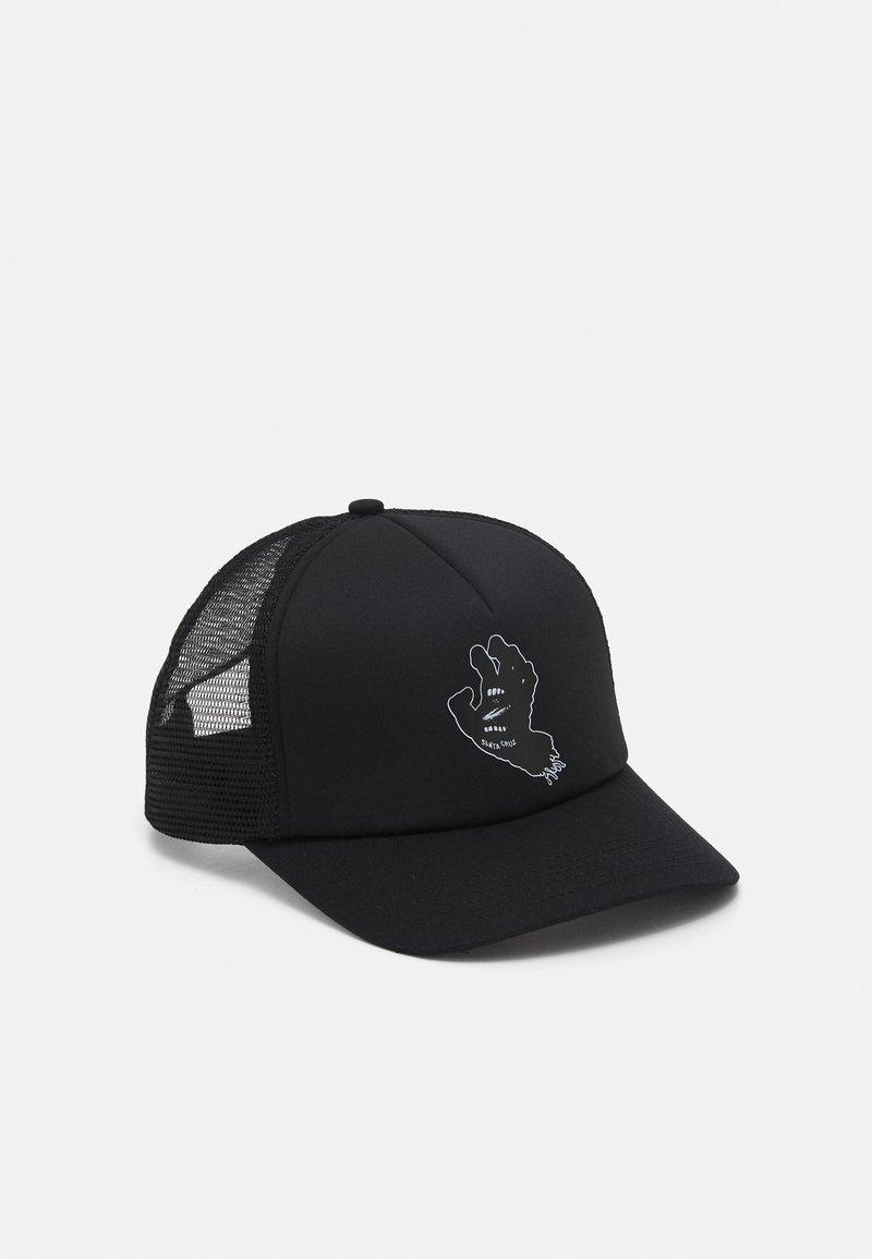 Santa Cruz - CONTRA HAND UNISEX - Cappellino - black