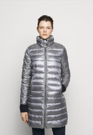 LUST MIXED COAT - Down coat - silver