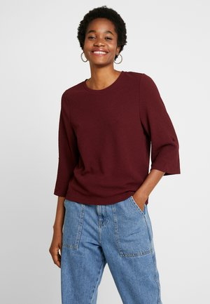 JDYDAKOTA 3/4  - Long sleeved top - windsor wine
