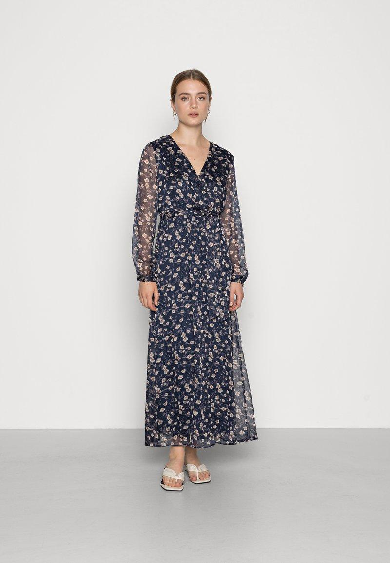 Vila - VIALVIA ANKLE DRESS - Maxi dress - navy blazer