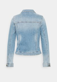 TOM TAILOR DENIM - RIDERS JACKET - Jeansjakke - used light stone blue denim - 1