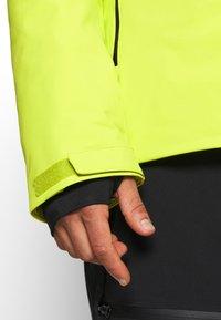 J.LINDEBERG - FRANKLIN  - Ski jacket - leaf yellow - 5