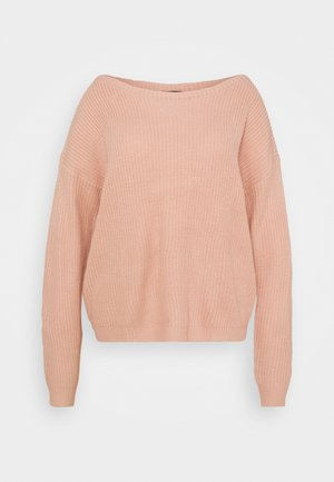 OPHELITA OFF SHOULDER - Trui - rose