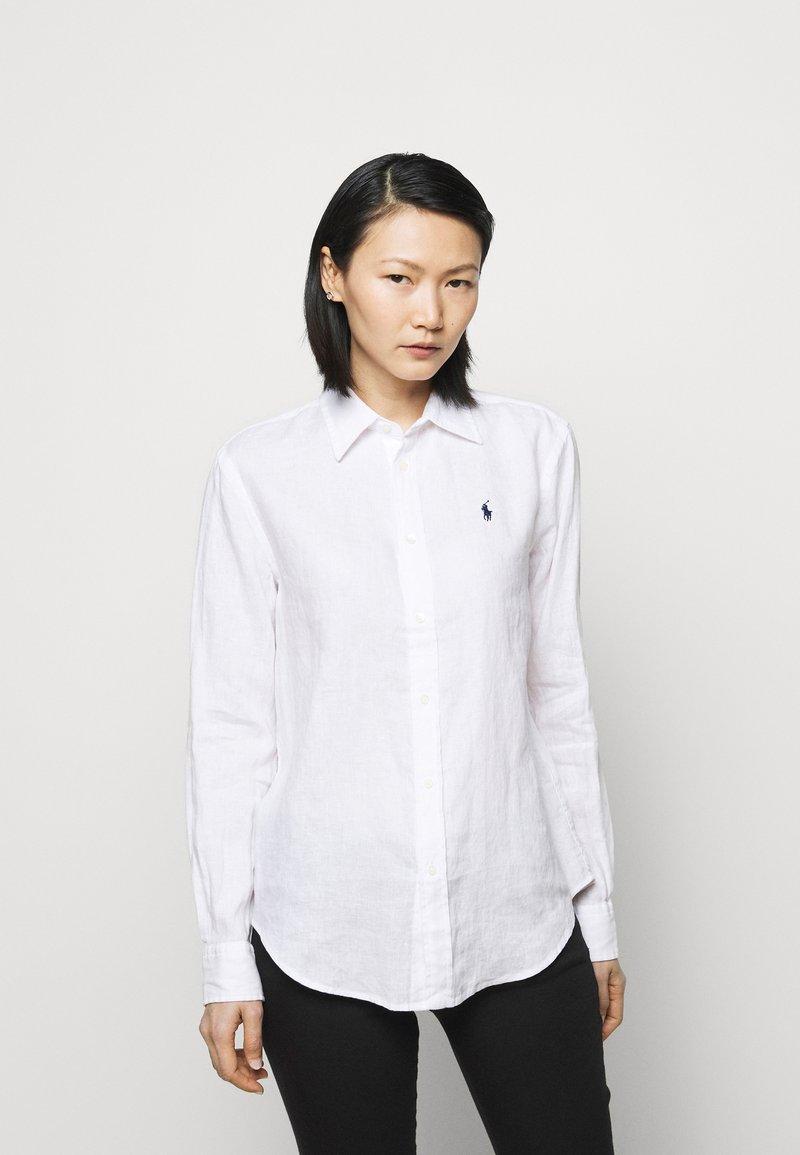 Polo Ralph Lauren - PIECE DYE - Button-down blouse - white