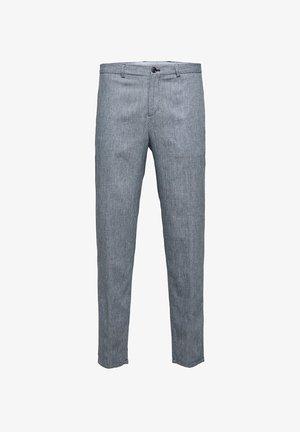 Suit trousers - dark blue 1