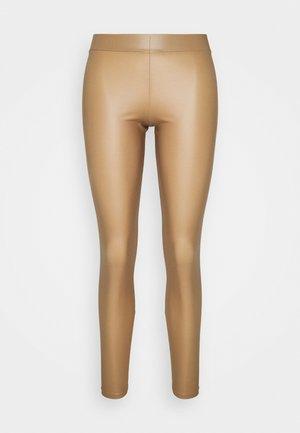 PCNEW SHINY LEGGINGS  - Leggings - nature