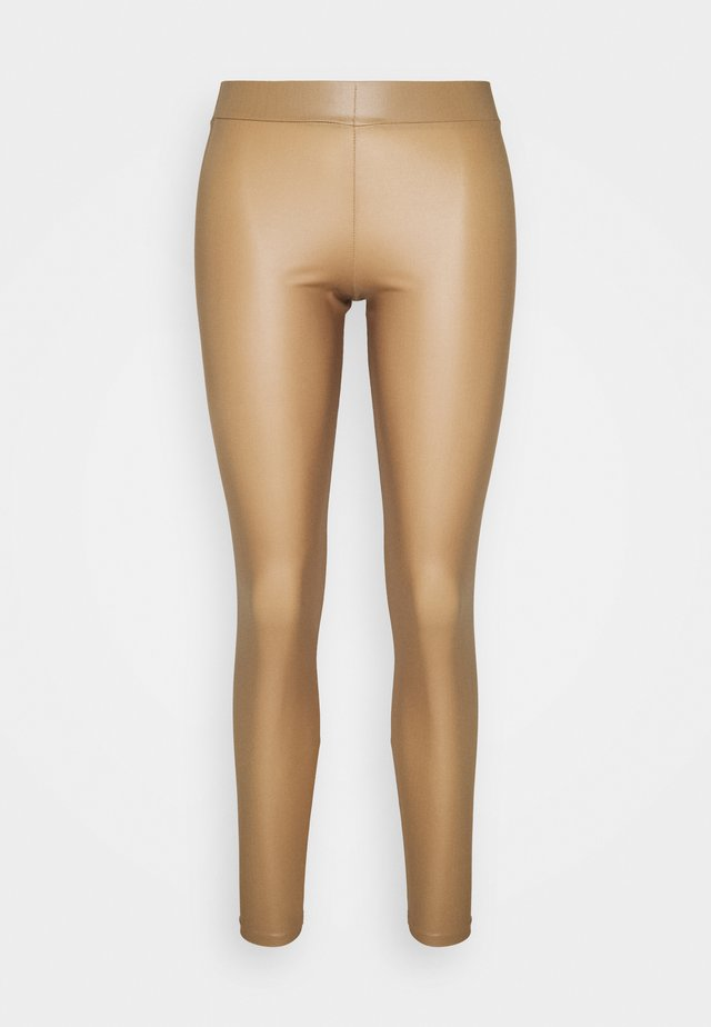 PCNEW SHINY LEGGINGS  - Leggings - Stockings - nature