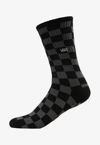 Vans - UA CHECKERBOARD CREW II (6.5-9, 1PK) - Socks - black charcoal - 1